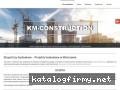 KM-CONSTRUCTION projekty wyburzeń warszawa
